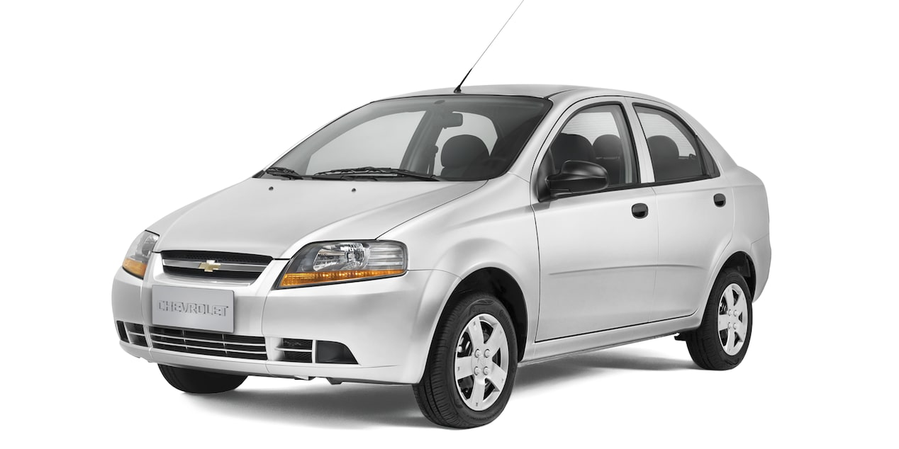 Chevrolet Aveo Family - Color Blanco de tu Auto Economico