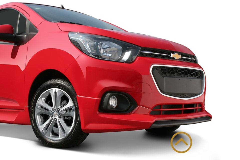 Chevrolet Beat - Spoiler Frontal de tu Auto Sedan