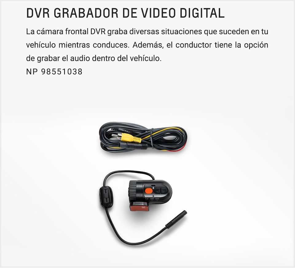 Chevrolet Onix Sedán - Grabador de Video Digital para tu Auto Familiar