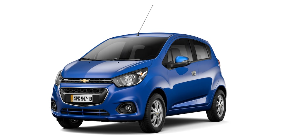 Chevrolet Spark GT - Color Azul de tu Hatchback