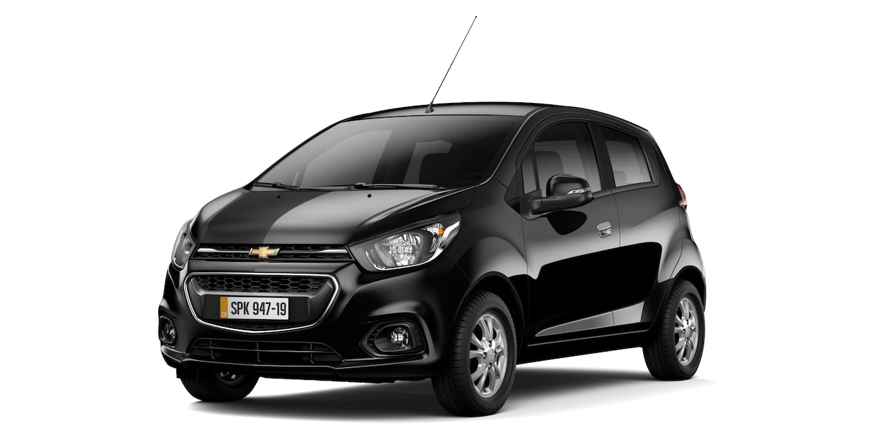 Chevrolet Spark GT - Color Negro de tu Hatchback