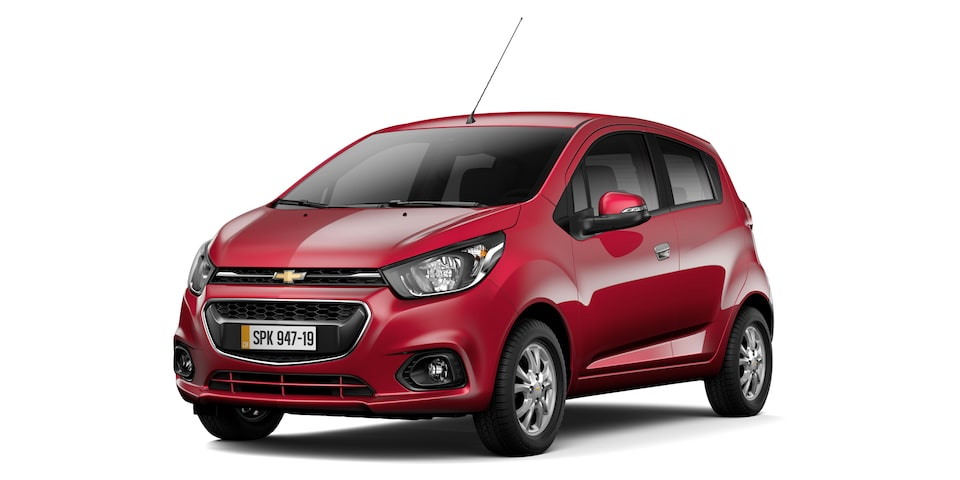 Chevrolet Spark GT - Color Vino de tu Hatchback