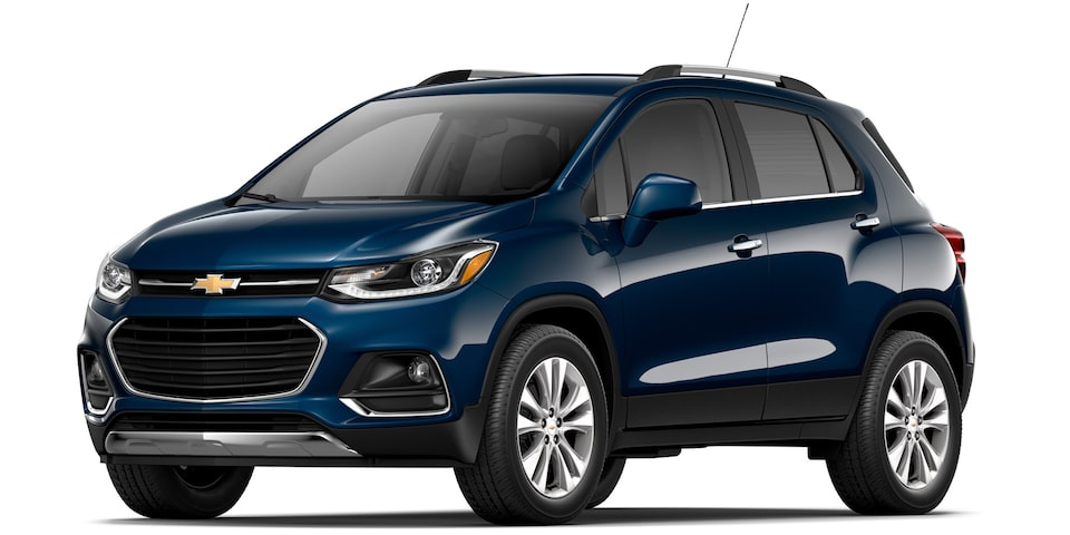 Chevrolet Tracker - Color Azul de tu SUV