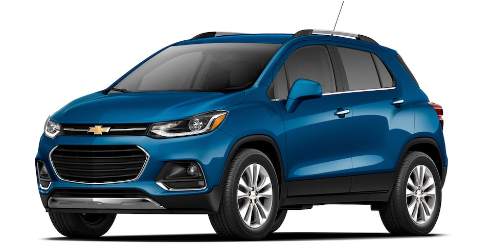 Chevrolet Tracker - Color Celeste de tu SUV