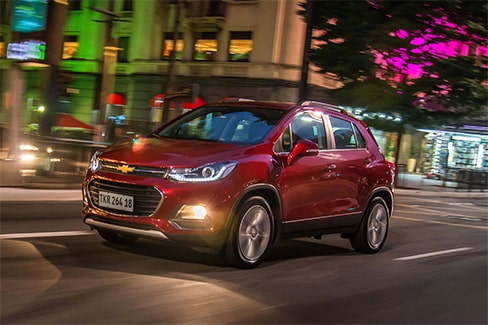 Chevrolet Tracker - Luces de tu SUV