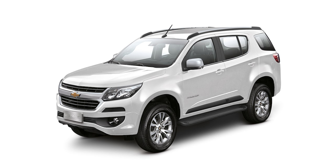 Chevrolet Trailblazer - Color Plata de tu Todoterreno de Lujo