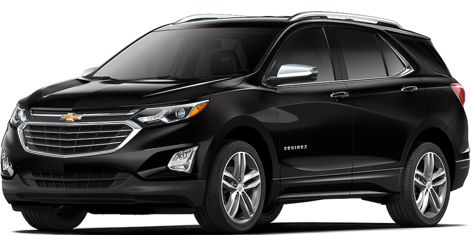 Chevrolet Equinox - Color Negro de tu SUV
