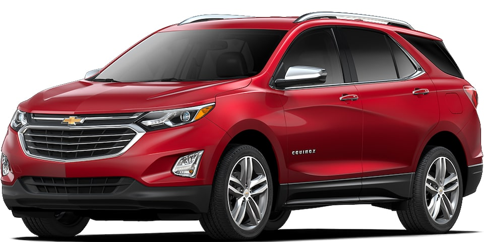 Chevrolet Equinox - Color Rojo de tu SUV